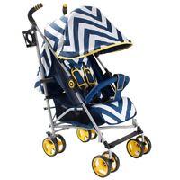 My Babiie Mb02 Blue Chevron Stroller Pushchair