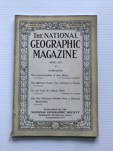 National-Geographic-Magazine-April-1919-The-Cone-Dwellers-Of-Asia-Minor