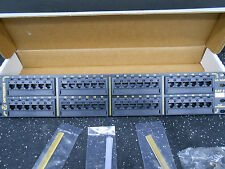NEW Ortronics 24 port Cat 5 fast ethernet patch panel 10//100 OR-838045498