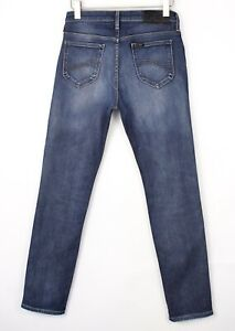 Lee Hommes Rider Droit Slim Jeans Extensible Taille W31 L32 BEZ418