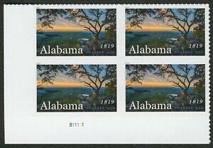 #5360 Alabama Statehood, Placa Bloque [B11111 Ll ], Nuevo Cualquier 5=