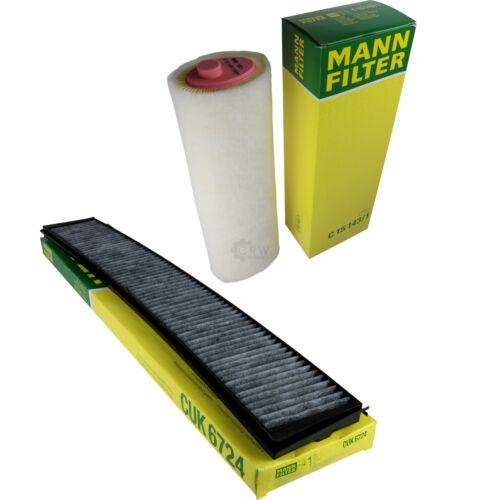 MANN-FILTER PAKET für BMW 3er Cabriolet E46 330 Cd Bj05-07 X3 E83 3.0 D Bj03-06