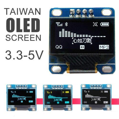 "128X64 0.96/"" OLED I2C IIC Serial LCD LED SSD For Arduino Display Module Clip´uk"
