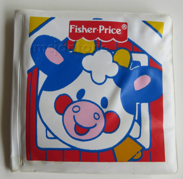 LOOSE U-3 McDonald's Fisher Price Under 3 PADDED VINYL BOOK Farm Toy Group C