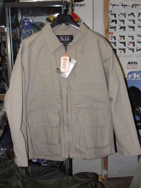6b3ca258851f Tactical jacket 5.11 veste coton canvas taille XL khaki beige tan coyote  sable