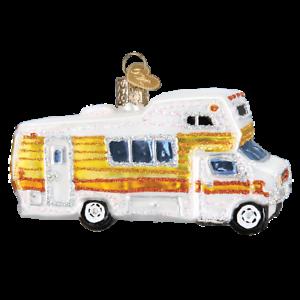 Old-World-Christmas-CLASSIC-MOTORHOME-46069-N-Glass-Ornament-w-OWC-Box