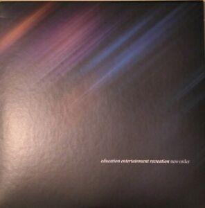 New Order - Education Entertainment Recreation Double CD (2021) Live Album