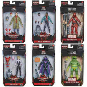 Spider-man-Marvel-Legends-Stilt-Man-BAF-Set-6-Figures-Wave-Spider-Verse-IN-STOCK