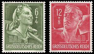 EBS-Germany-1944-Reich-Labour-Service-Reichsarbeitsdienst-Michel-894-895-MNH