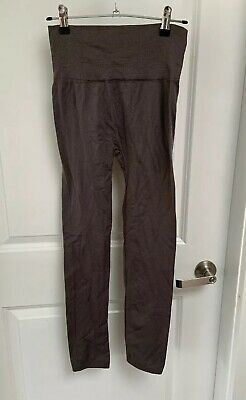 10-12 Charcoal Grey High Waisted Body Slimming Leggings From Ice Size M/l Provided New