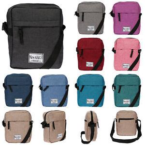 Herren-Damen-Tasche-Umhaengetasche-Schultertasche-Nylon-Crossover-Crossover-Bag