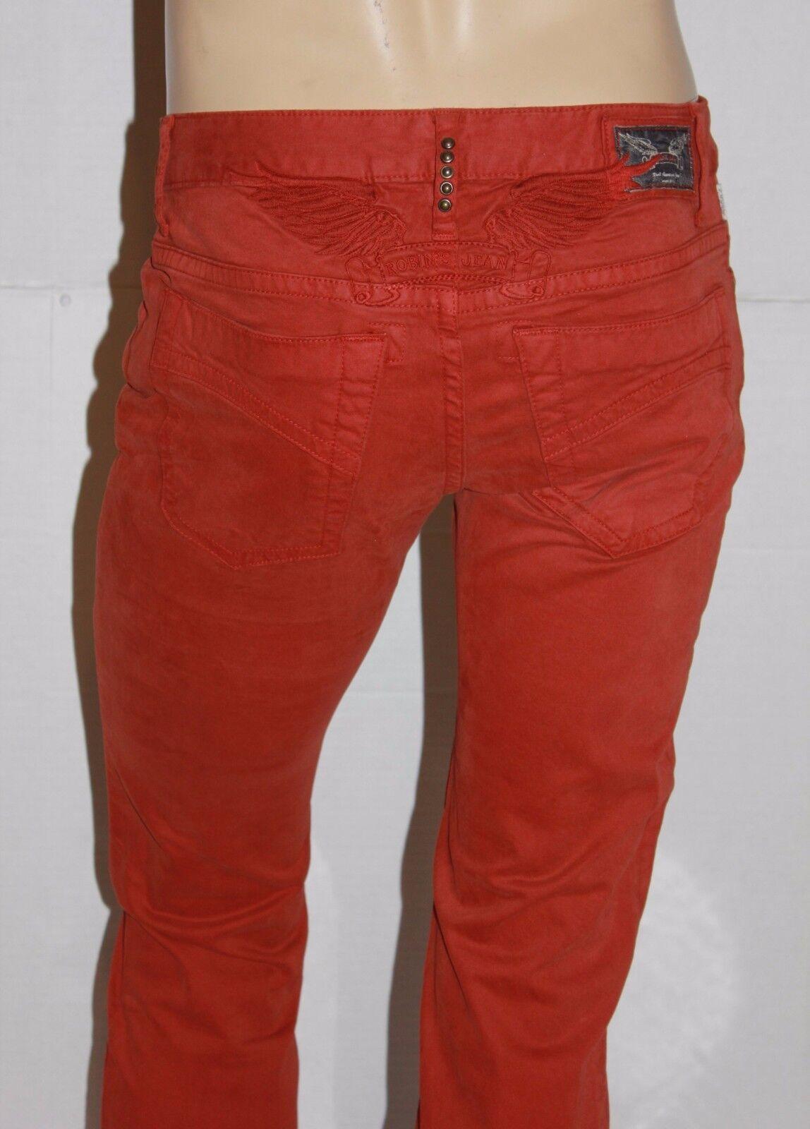 Neu Herren ROTKEHLCHEN Jeans Stil  SP5140 Marlon Enge Hosen Jeans - Orange | Zuverlässige Leistung  | Sale Outlet
