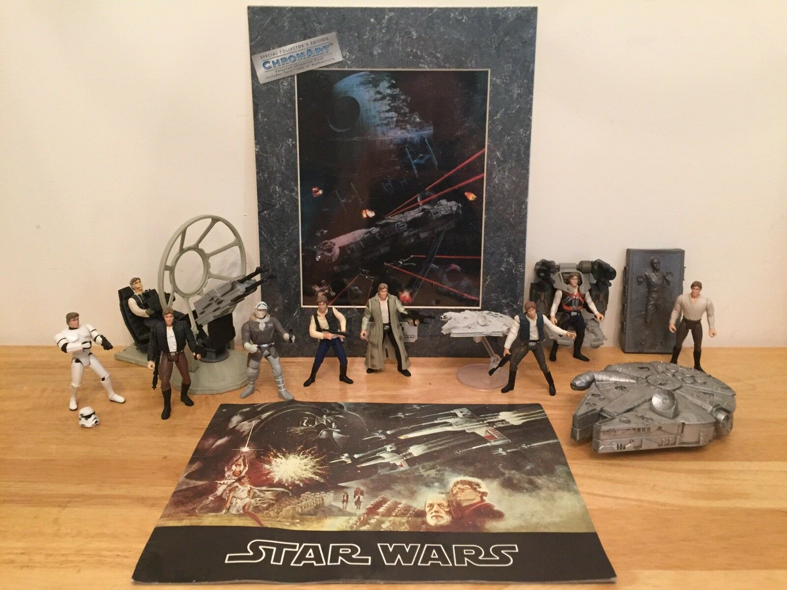 Star Wars - Han Solo   Millennium Falcon lot