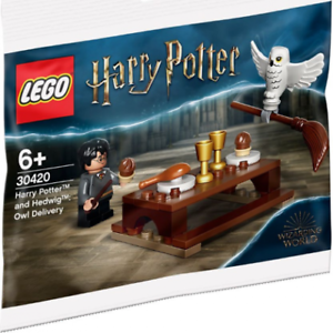 Lego-Harry-Potter-Et-Hedwig-Chouette-Livraison-30420-Polybag-Neuf-Emballe