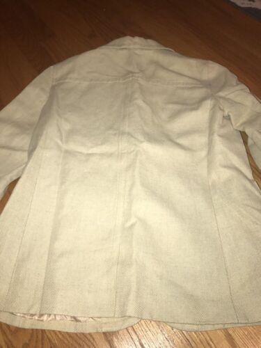 Blazer Orvis Lined Donna Giacca Khaki Lino Sz Button Blazer 2 Sport 8 Coat qUZqrwz