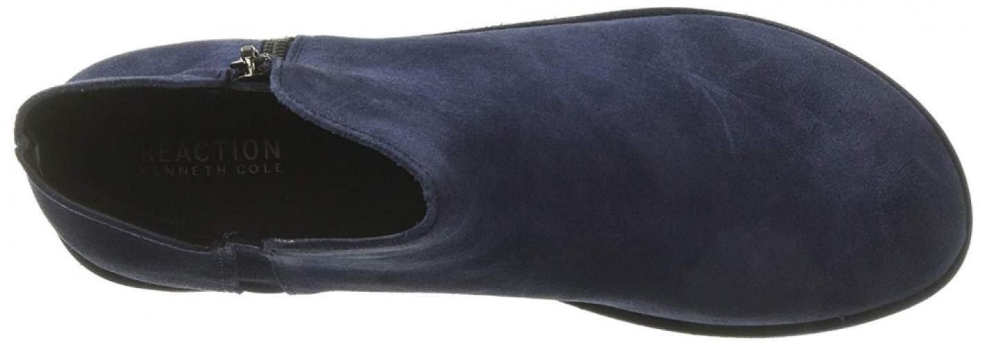 Kenneth Cole Reaction De Mujer Botín de plataforma cremallera principal con cremallera plataforma lateral Bota de tobillo, 2449b4