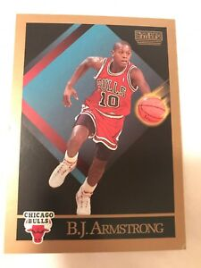 Details About 1990 91 Skybox Chicago Bulls Basketball Card 37 Bjarmstrong Rookie