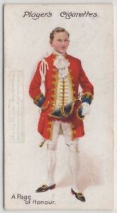 Page-Of-Honour-Dress-Uniform-England-Royalty-100-Y-O-Trade-Ad-Card