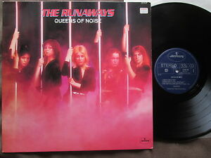 The Runaways Queens Of Noise Holland Lp 6338 780 Glossy P