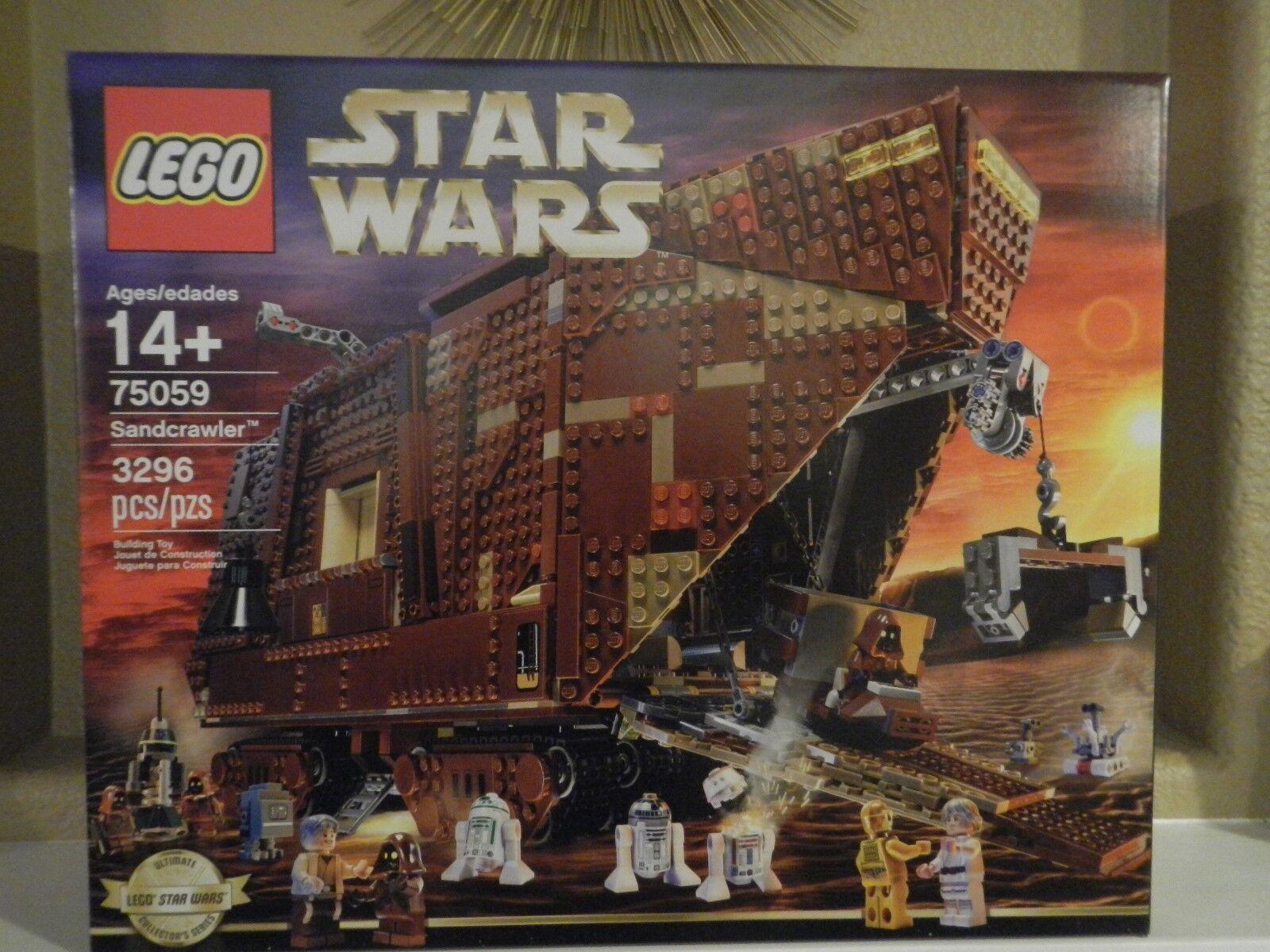 LEGO -NIB Star Wars Sandcrawler Age 14+ 3296 Pcs
