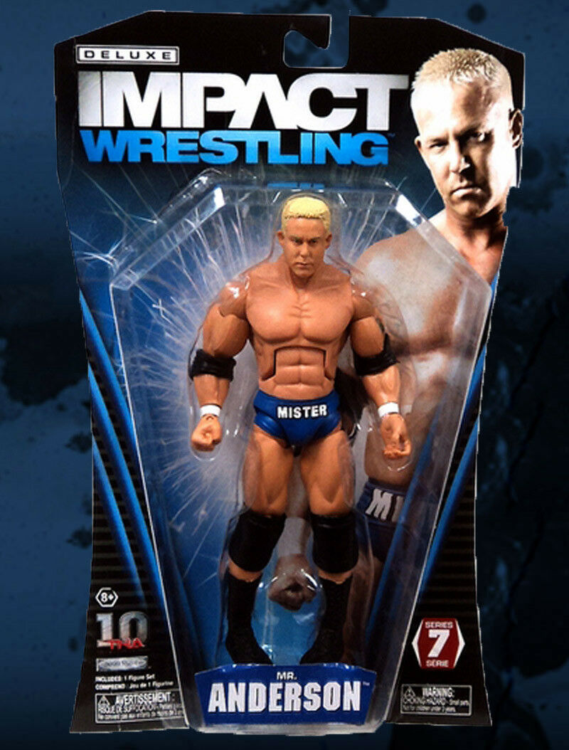TNA Deluxe Impact Wrestling Series _MR. ANDERSON 6  action figure_New_Unopened