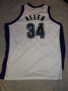 lowest price dfb44 a695a Details about RAY ALLEN RETRO MILWAUKEE BUCKS NIKE SWINGMAN XXL JERSEY  WHITE FREE SHIPPING