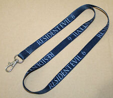 Resident evil 6 Promo Sclüsselband Lanyard PS3 PS4 Xbox One 360 Playstation 3 4