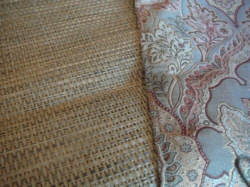 """2 Gray  6/"""" X 14/"""" Material /& Plastic Table Runners"""