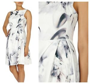ex-Coast-Tritin-Print-Multi-Colour-Fit-Flare-Party-Cocktail-Prom-Occasion-Dress