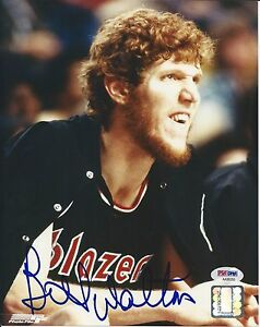 BILL-WALTON-Signed-Portland-TRAILBLAZERS-8x10-PHOTO-with-PSA-COA