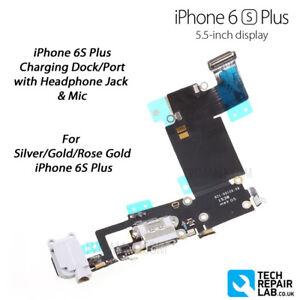 Details About New Iphone 6s Plus Lightning Port Charging Dock Headphone Jack Mic Repair