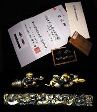 "Certificated MENUI & KOZUKA Set 18-19thC Japanese Edo Antiques ""7GODS"" d672"