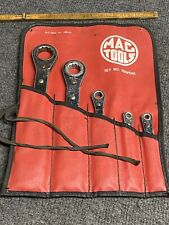 """Details about  /MAC TOOLS RBW50K SAE 5 PIECE RATCHET WRENCH SET 1//4/"""" THRU 7//8/"""" 10 SIZES"""
