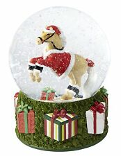 *NEW* Trail of the Painted Ponies 4040998 SANTA PONY SNOW GLOBE Horse Figurine