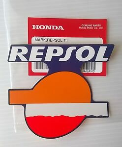 Honda Repsol Decal Mark Sticker Badge Cbr Blue Orange White Red Uk Stock Ebay