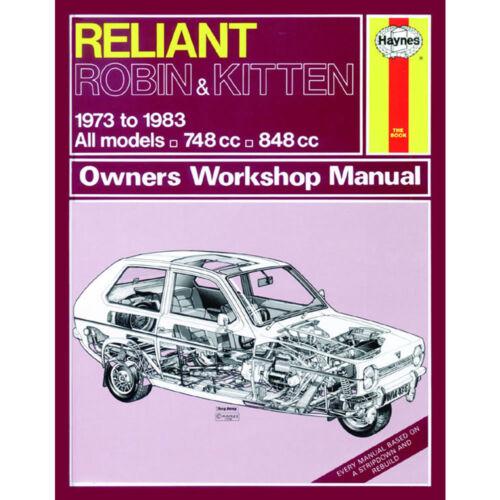 haynes manual reliant robin kitten 73 83 up to a classic rh ebay co uk Peel Trident Messerschmitt KR200