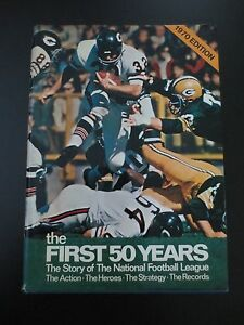 Vintage-The-First-Fifty-Years-Story-of-National-Football-League-book-NFL-1970