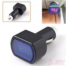 Digital LED Volt Meter Auto Car Cigarette Lighter Voltage Gauge Battery Tester