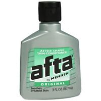 Afta Original After Shave Lotion With Skin Conditioner By Mennen 3 Oz on sale