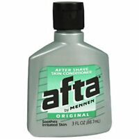 Afta Original After Shave Lotion With Skin Conditioner By Mennen 3 Oz