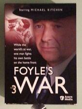 Foyles War - Set 3 (DVD, 2005, 4-Disc Set)