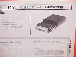 1968 aiwa car auto 4 track stereo tape player service shop manual rh ebay com Aiwa Stereo ManualDownload Aiwa Digital Audio System Manual