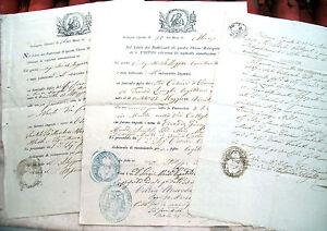 1858-LOTTO-DOCUMENTI-BOLOGNESI-DELLA-CHIESA-METROPOLITANA-DI-SAN-PIETRO