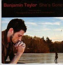 (BP718) Benjamin Taylor,  She's Gone - DJ CD