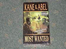 "Kane & Abel ""Most Wanted"" Underground Videos {EXplicit Advisory} Hip Hop NEW VHS"