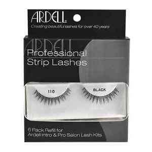 561c64d64a0 6 Pack Refill Kit Ardell Strip Lashes 110 black Internation Free ...