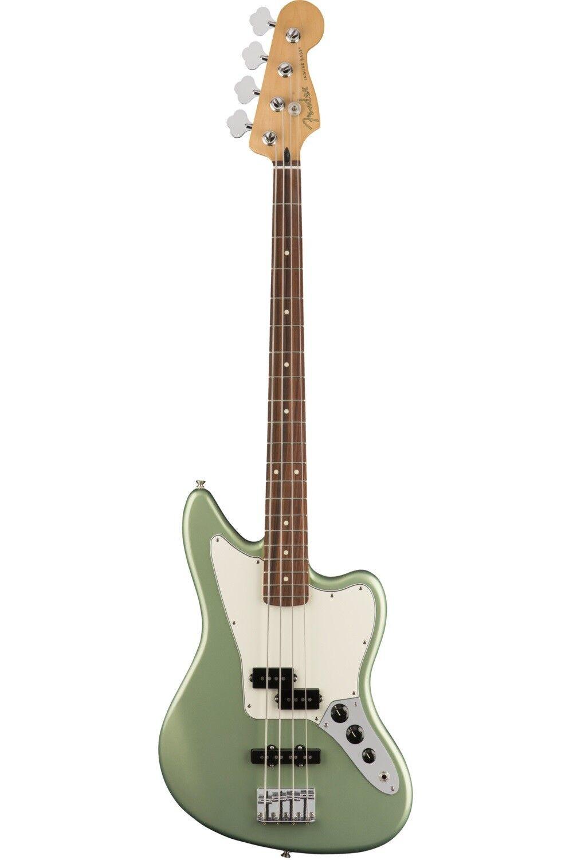 Fender Player Jaguar® Bass, Pau Ferro Fingerboard, Sage Grün Metallic - E-Bass