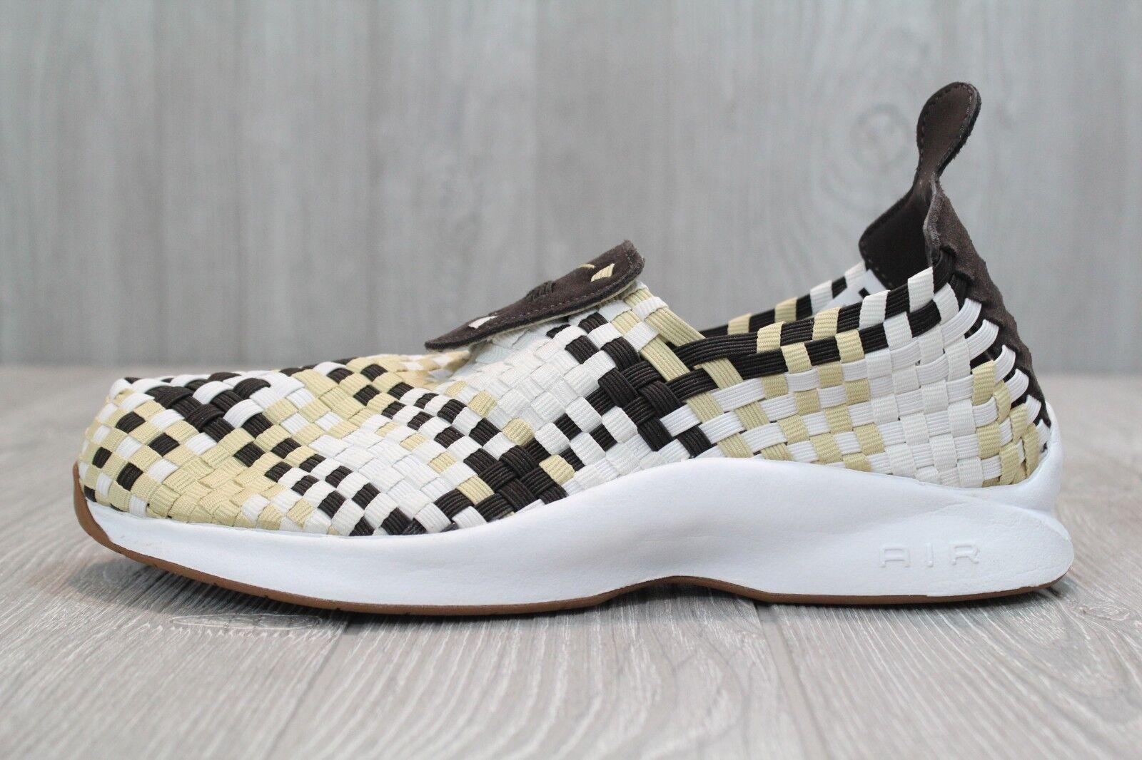 25 Nike Air Woven Velvet Brown Sail Mens 7 Classic Sneakers Slip-On 312422-200