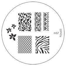 konad Image Plate M57 Stamping Nail Art UK