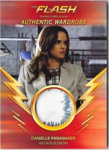 Flash-Season-1-Wardrobe-Costume-Relic-Card-Caitlin-Snow-Danielle-Panabaker-M12-A